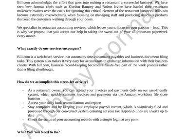 Marketing Email Writing