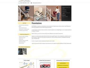 Wordpress Theme for inAscensore.it