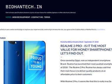 My Blog - BidhanTech.in