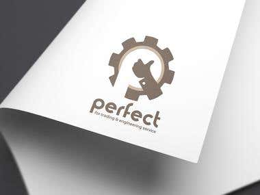 PERFECT _ engineering service logo