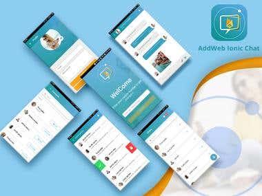 AddWeb Ionic Chat