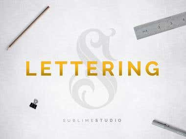 Lettering/Calligraphy/Typography