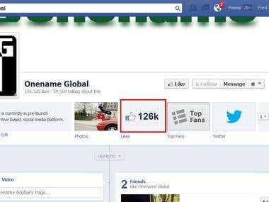 I have provided 126000 USA Facebook like on this page within