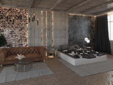 MODERN BEDROOM (UAE)