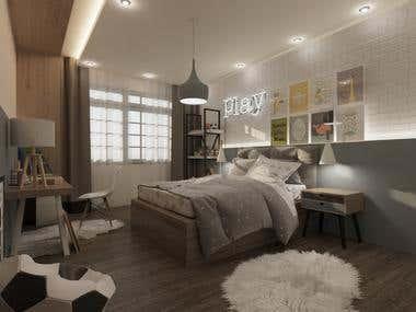 Boy Bedroom Design (BRAZIL)