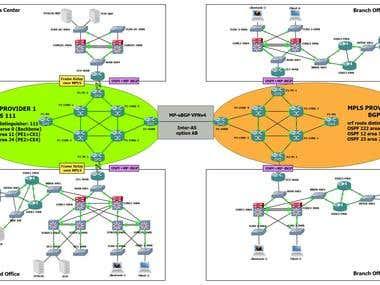 Configure MPLS and BGP