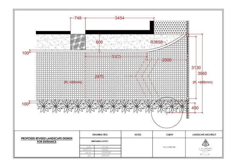 Landscape Layouts/Auto cad construction details | Freelancer
