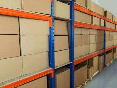 Warehouse and re-pack service