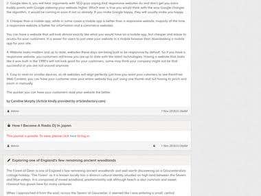 Maian Weblog - Free PHP Blogging Platform
