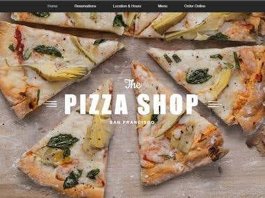 Pizza Shop Restaurant