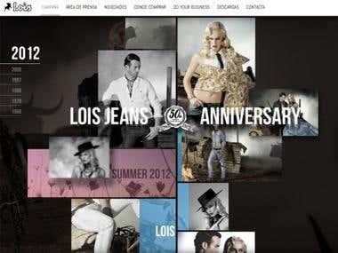 Parallex Website