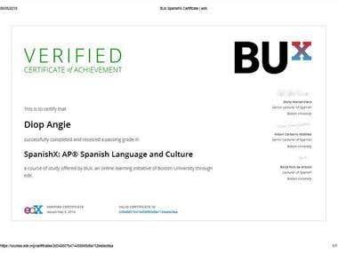 SpanishX: AP® Spanish Language and Culture