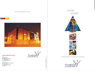 Brochure for Pharma Company