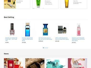 Mperfumeshop.com - Wordpress, Woocommerce, SEO