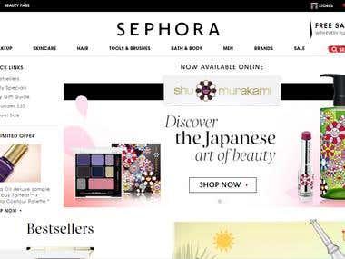 sephora website