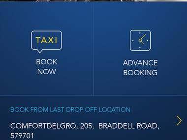ConfortDelGro Booking app