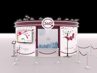 Design of 360 Bullet shoot in Doha Qatar