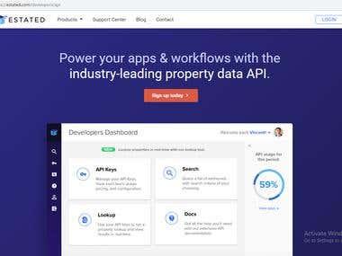 ESTATE API Integration