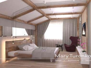 Eco-style interior