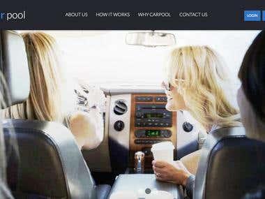Carpooling Web App