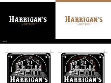 Craft Beer Company Logo & Labels
