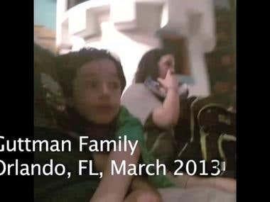 Guttman Family, Orlando, FL, 2013 v2