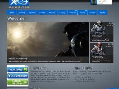 Gaming Website - Desktop