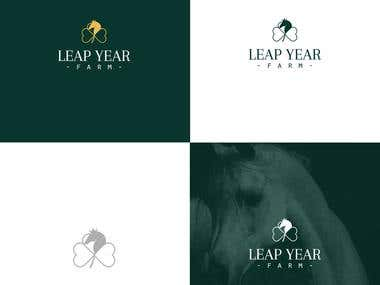 Logo For a Horse Farm