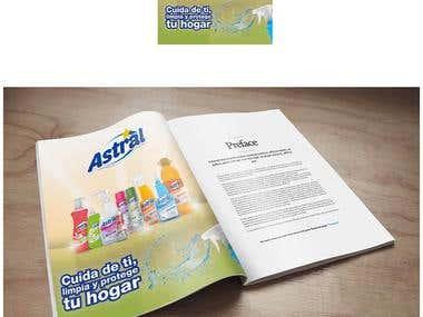 Magazine and production design