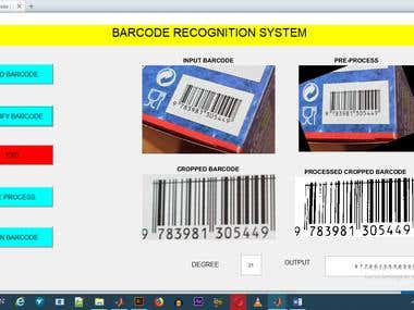 MATLAB PROJECT UPC-A Barcode Detection