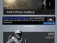 Gaming Website - Mobile