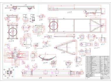 Planos Fabricacion Carro Agricola (coloso) 4Tons.