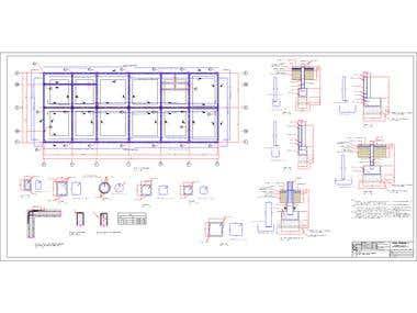 Planos Estructura Edificio Brintrup