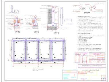 Plano Estructura Edificio Dr Martin nº722