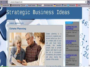 Strategic Business Ideas