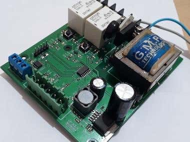 AC Loads controller with AC current measure