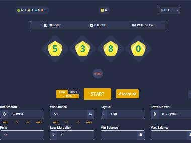 Bitcoin Gambling Dice Website(Duck Dice)