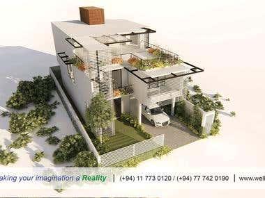 3d architectural designing