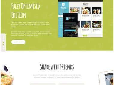 Mobile App, designing