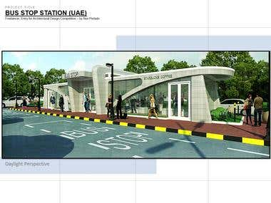 Bus Stop Station (Competition Entry)