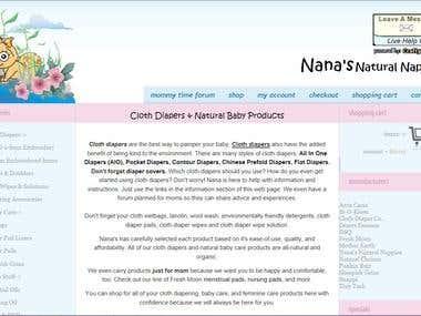 Nana's Natural Nappies