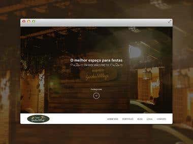 Espaço Garden Village - Website