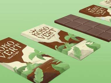 Chocolate Company Identity & Packaging