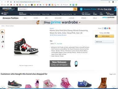 Amazon Product Listing with HTML tag using helium 10 keyword