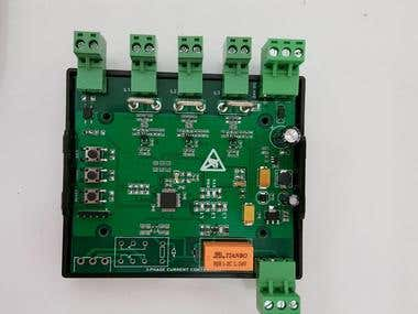3 Phase Current Control Card with STM32
