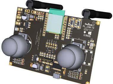 Remote Control Board Based on ESP32 and NRF24