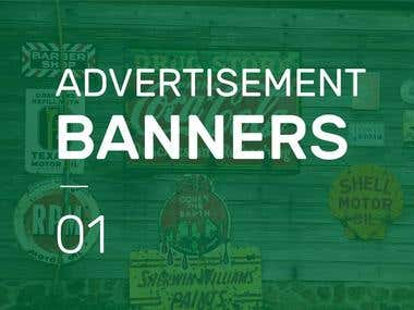 Advertisement and Banners