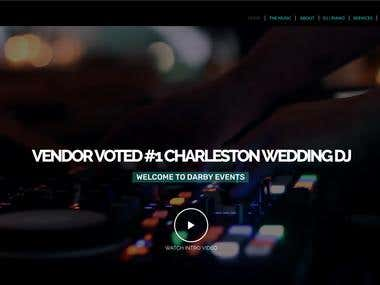 Website Wedding DJ