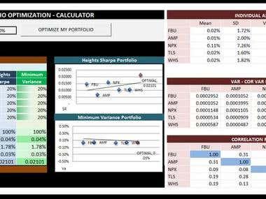 ExcelFinanceFinancial MarketsTemplates