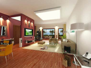 Revit BIM Modeling and Interior Design Concepting